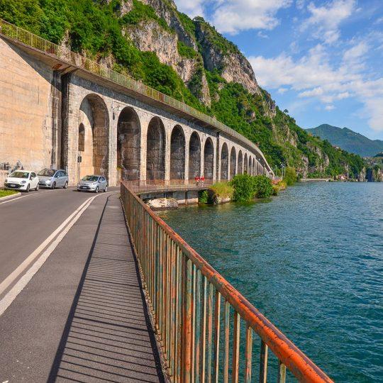 In bici a Vello - Marone