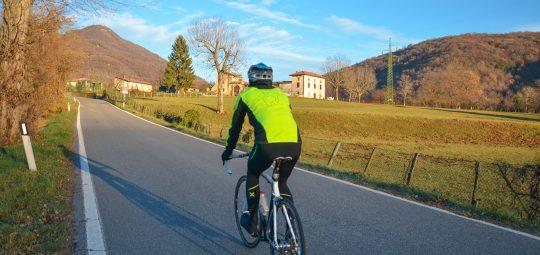 In bici al passo dei Tre Termini