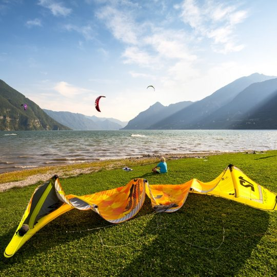 Lago d'Idro Kite Surf a Ponte Caffaro
