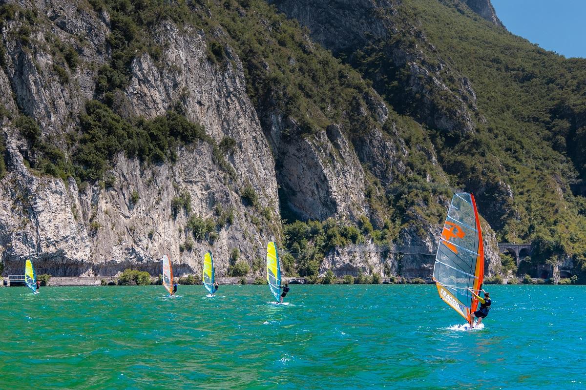 Windsurf, Lago d'Iseo
