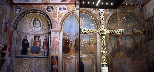 La Croce di Desiderio, Santa Maria in Solario - Museo di Santa Giulia di Brescia