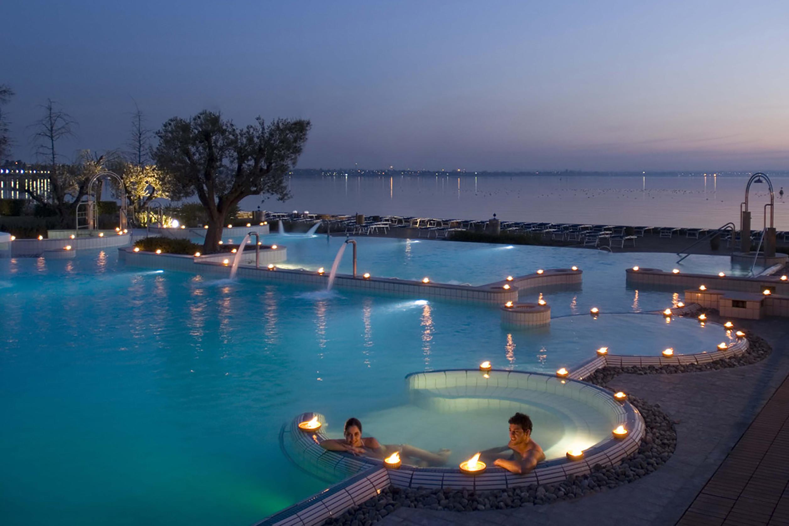 Aquaria Terme di Sirmione lago di Garda
