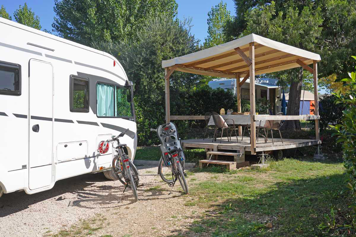 Area relax, Camping Fornella