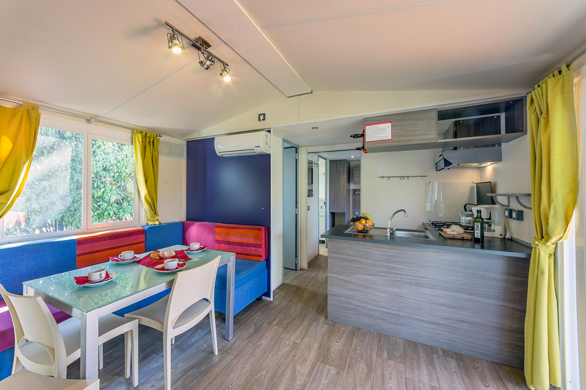 Casa Mobile, Camping Fornella