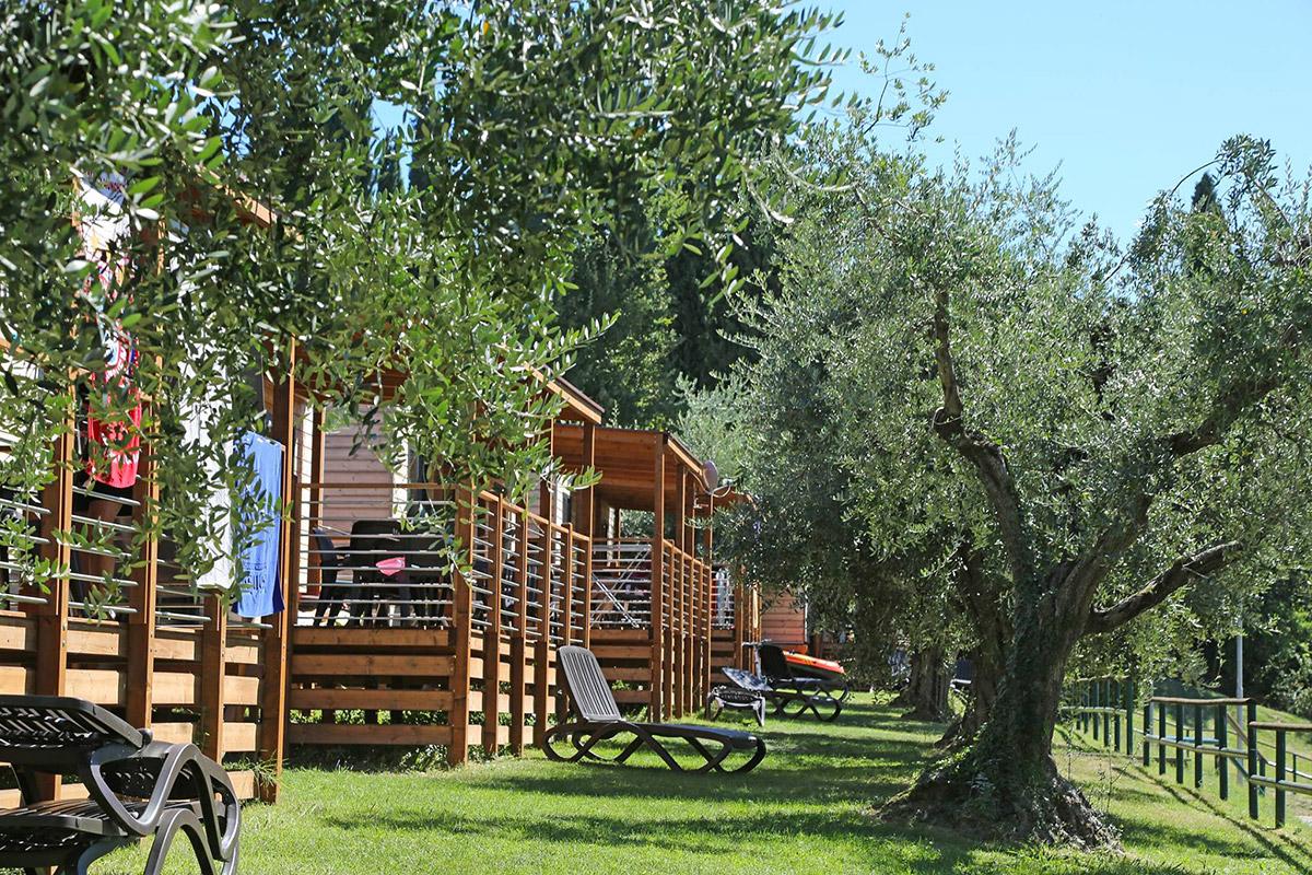 Giardino, Camping Fornella