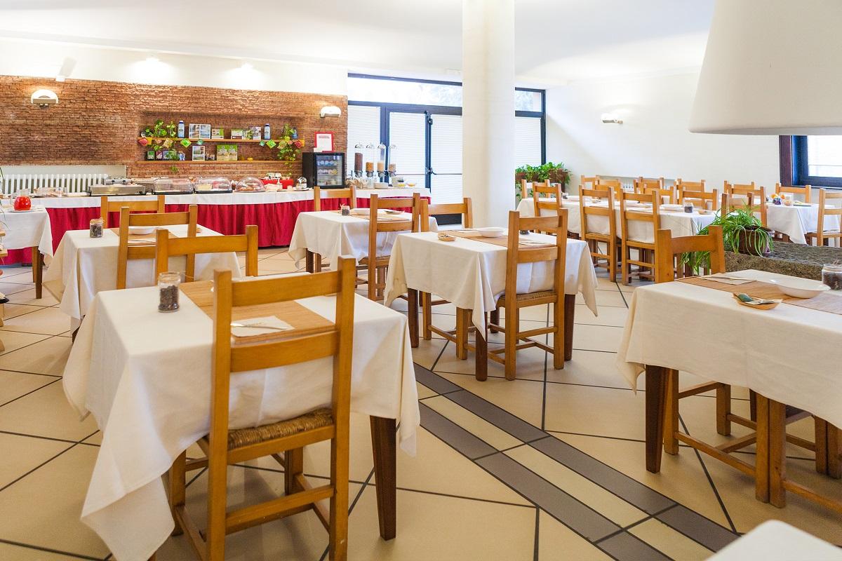 Hotel Giardino, sala da pranzo