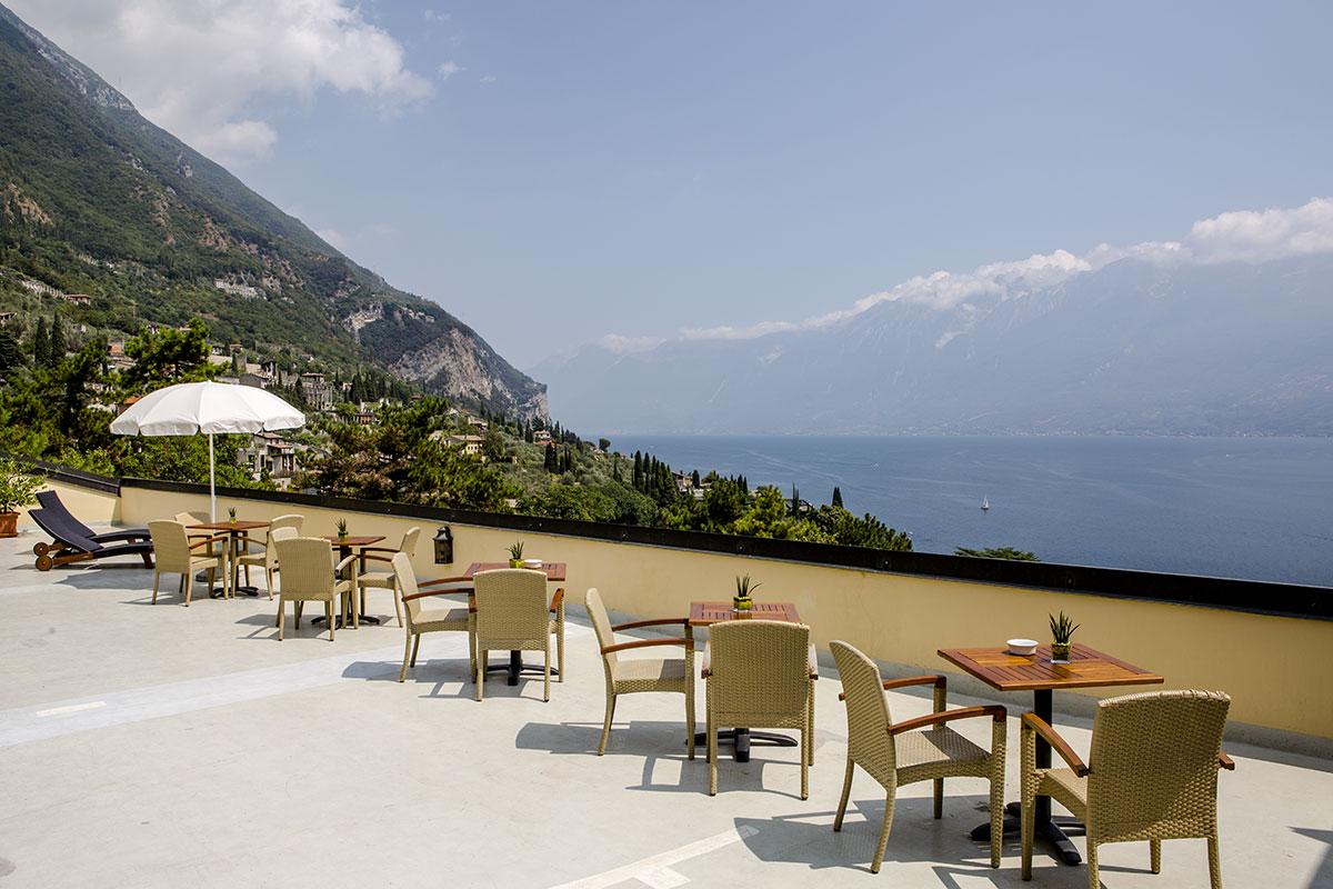 Hotel Meandro, terrazza