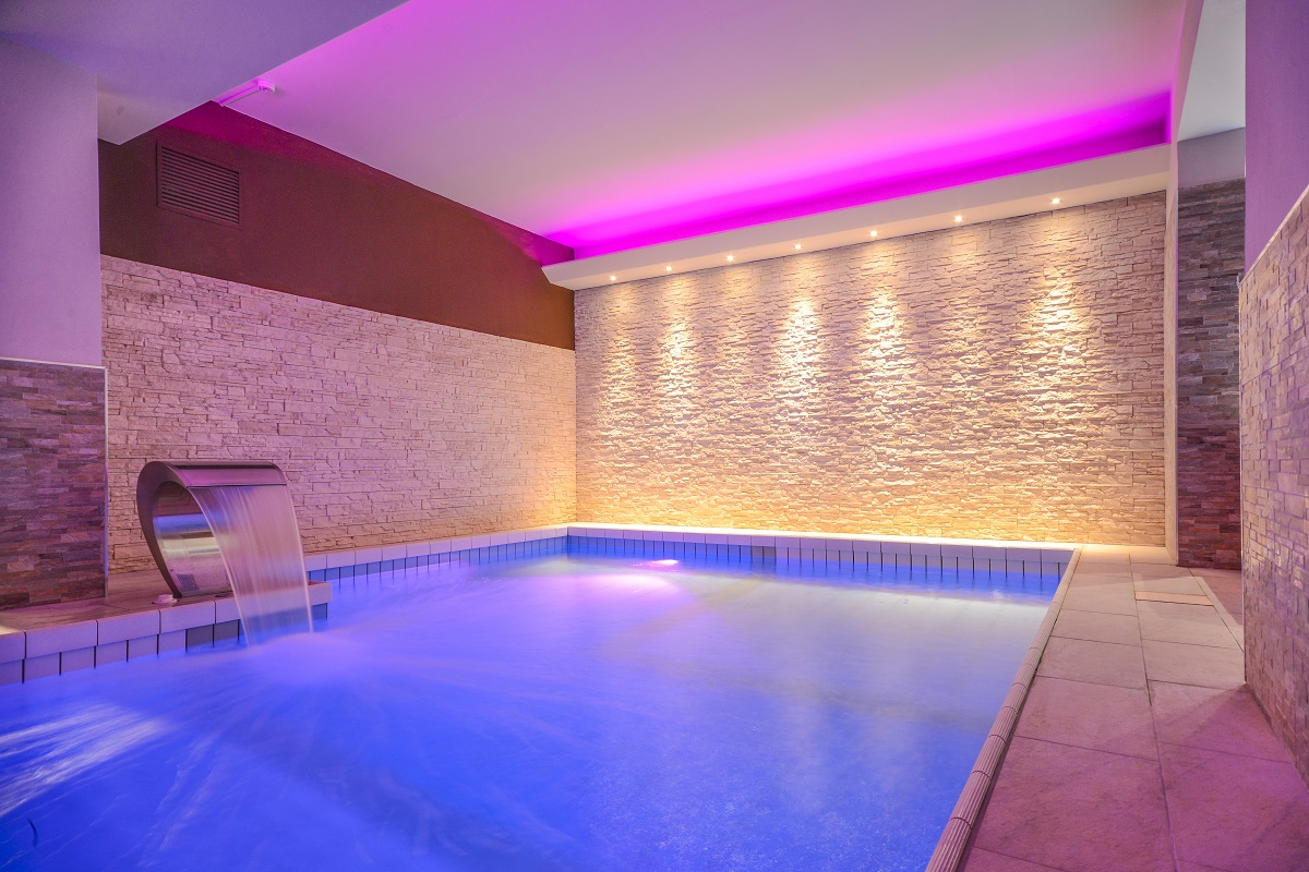 Hotel Oliveto, Desenzano, area wellness