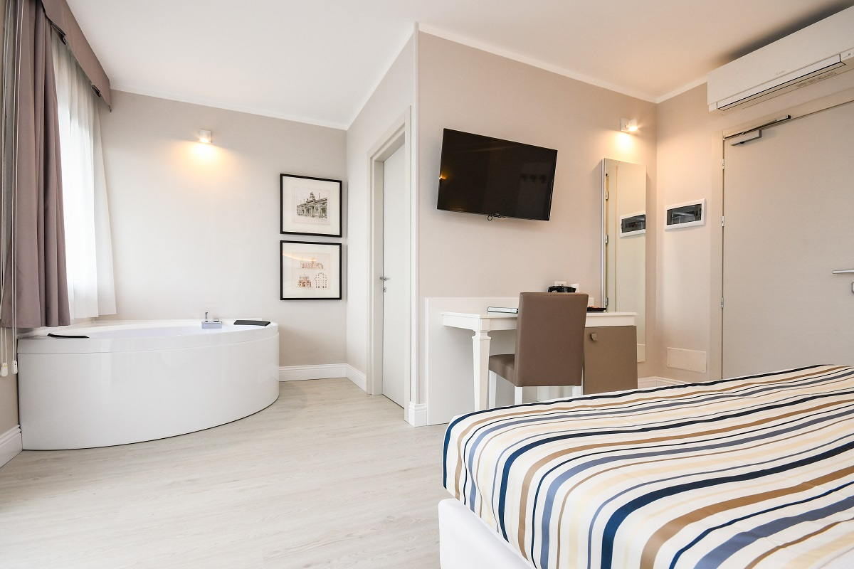 Hotel Oliveto, Desenzano, camera