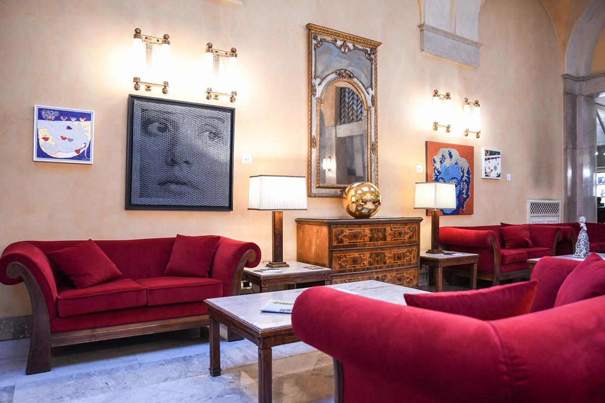 Hotel Vittoria, Brescia, interno
