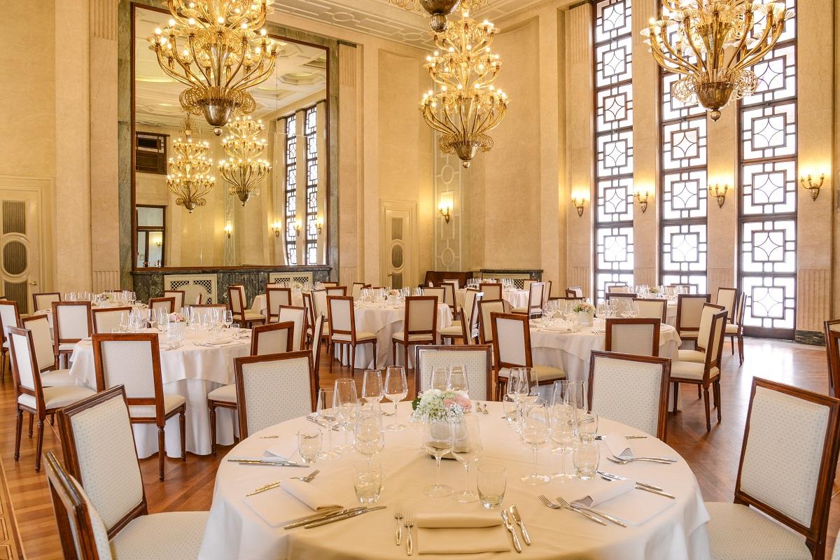 Hotel Vittoria, Brescia, sala da pranzo