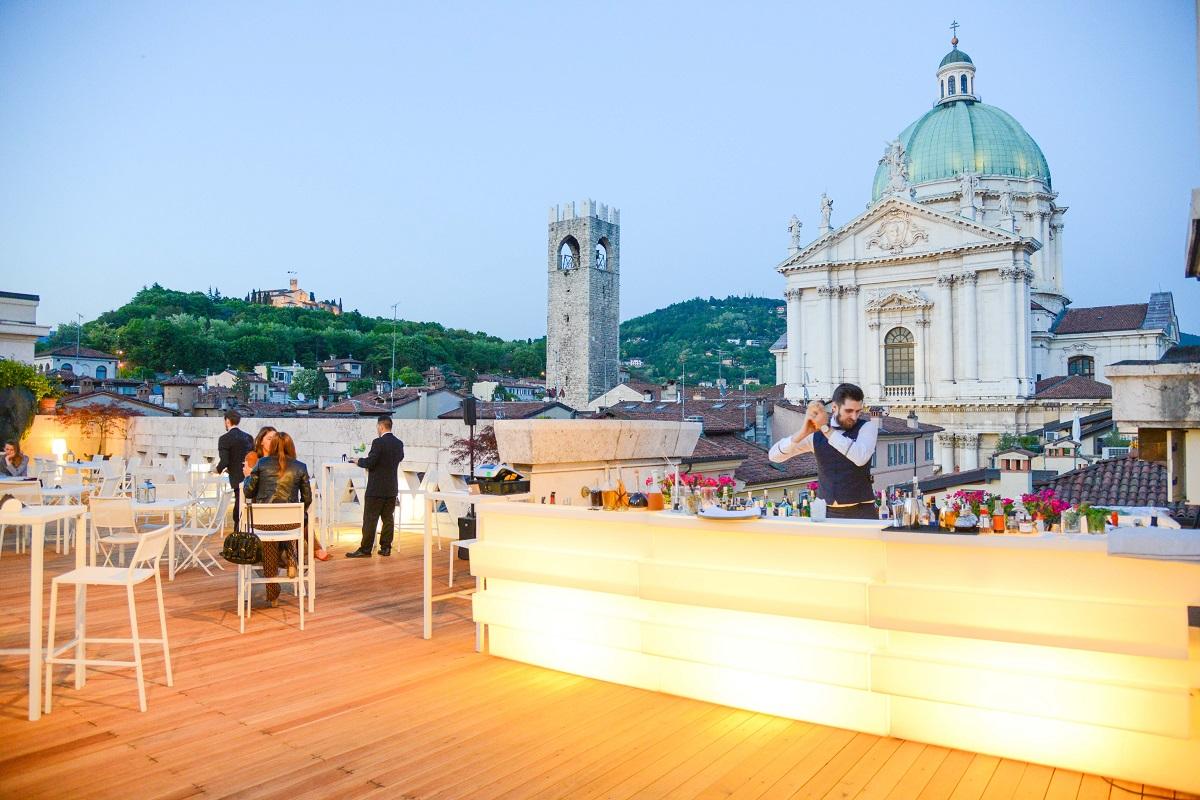 Hotel Vittoria, Brescia, Terrazza