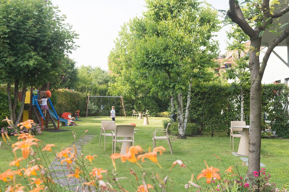 Novotel Brescia, giardino