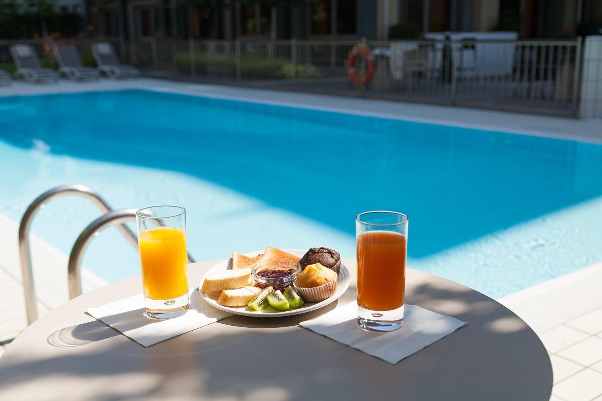 Novotel Brescia, piscina