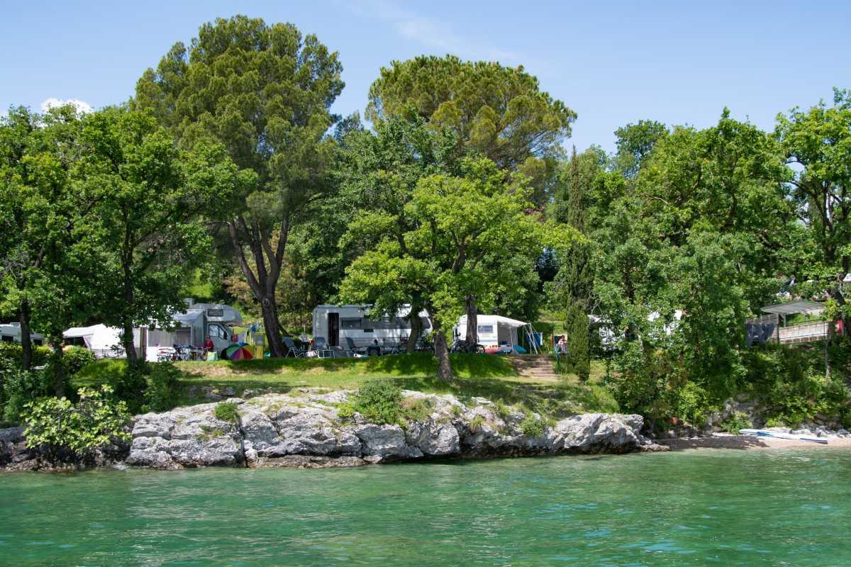 Piazzole sul lago, Camping Fornella