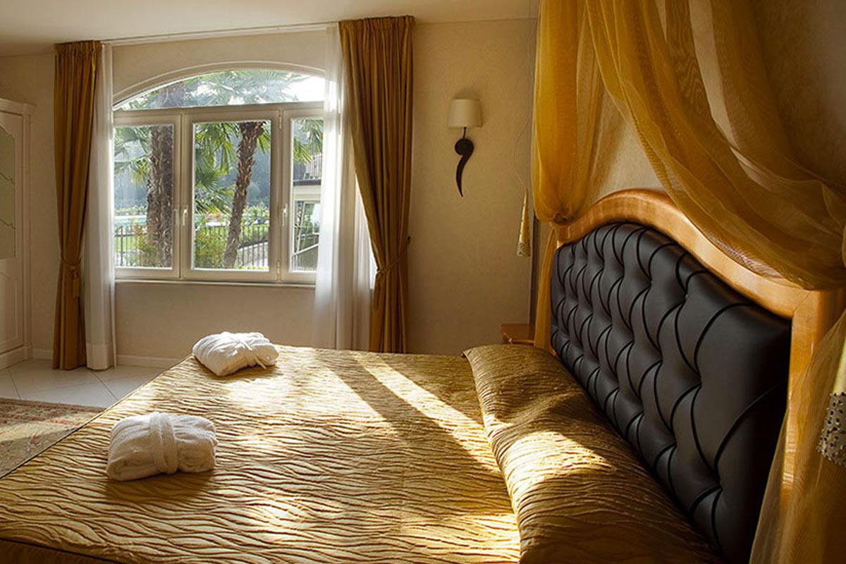 Stanza, hotel Monastero