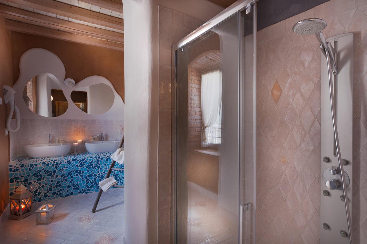 Villa dei Campi, bagno
