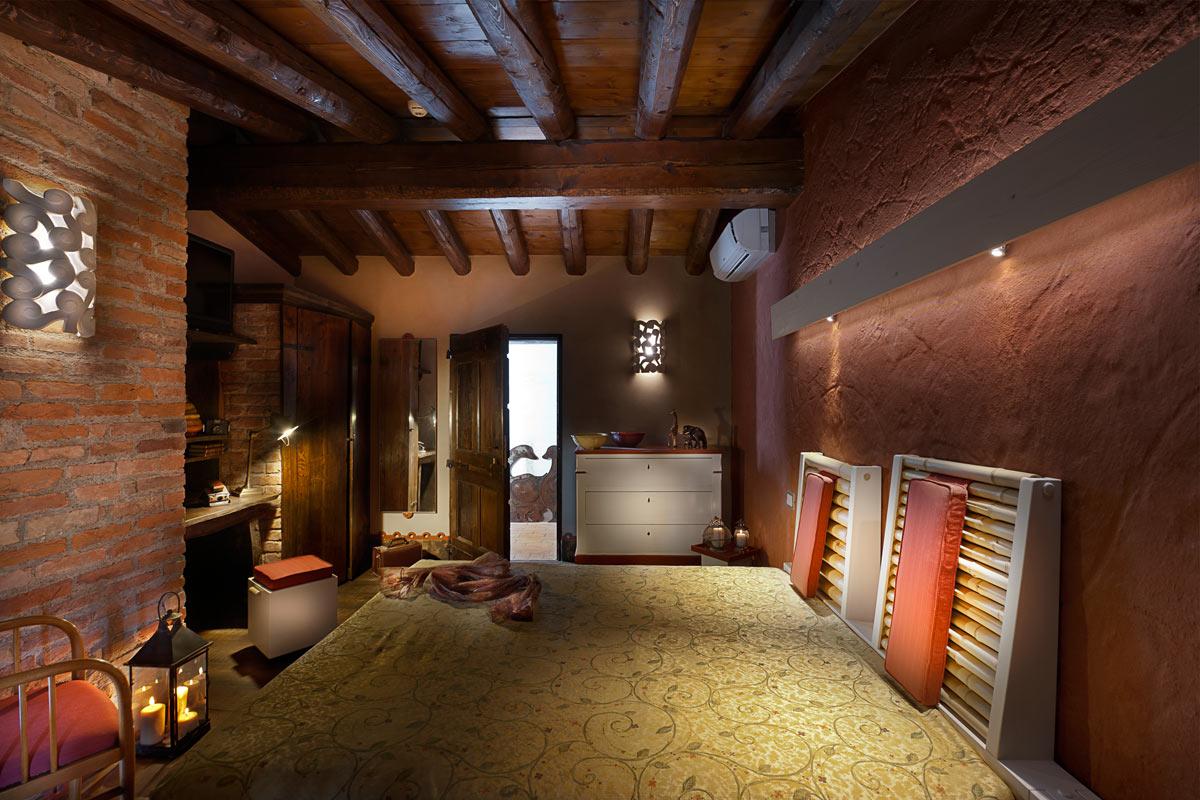 Villa dei Campi, camera