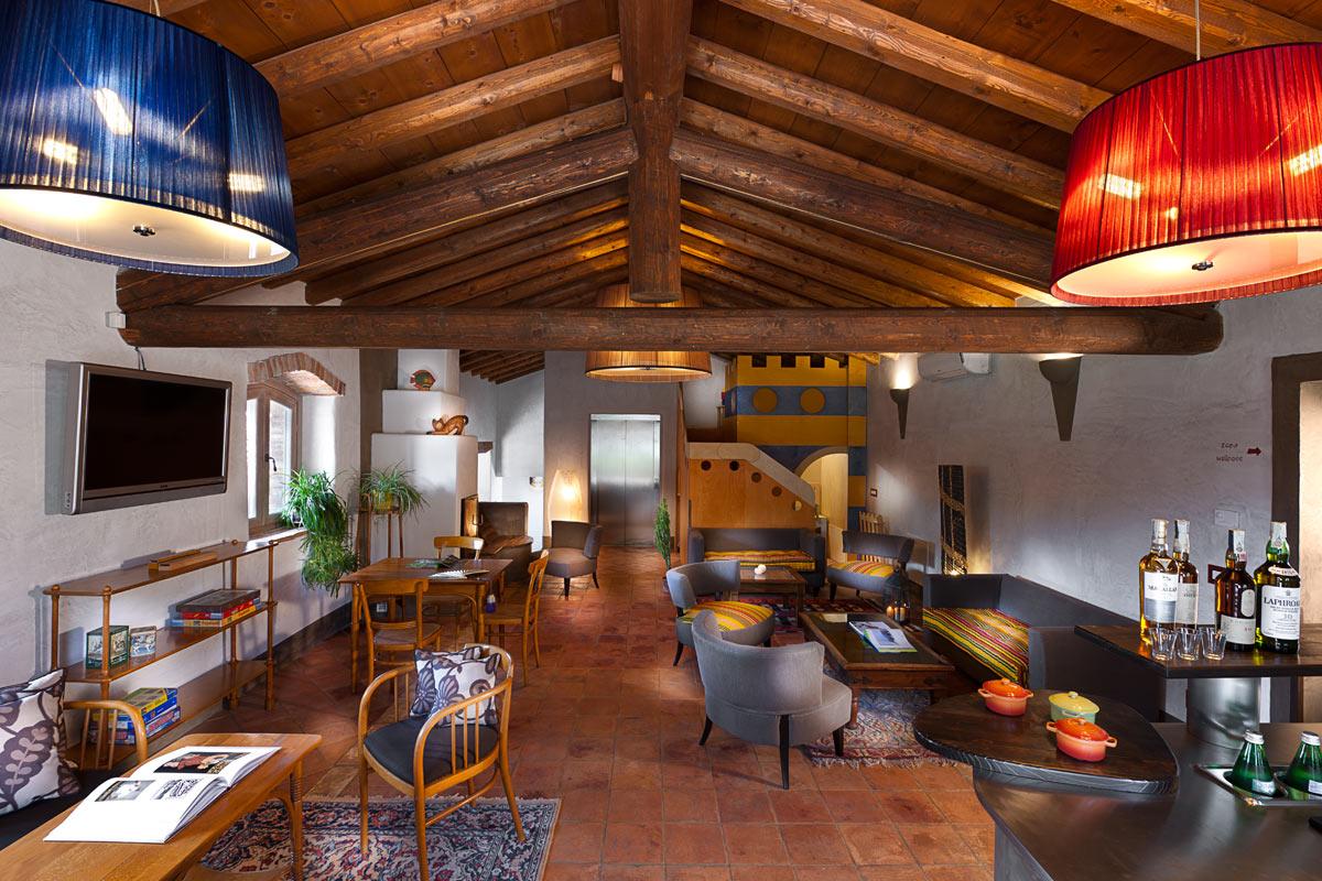 Villa dei Campi, Lounge Bar