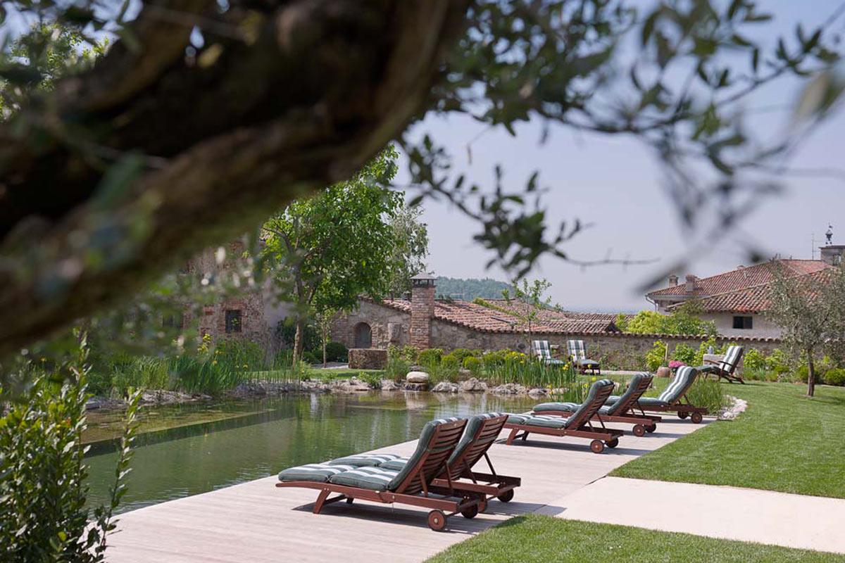 Villa dei Campi, piscina BIO