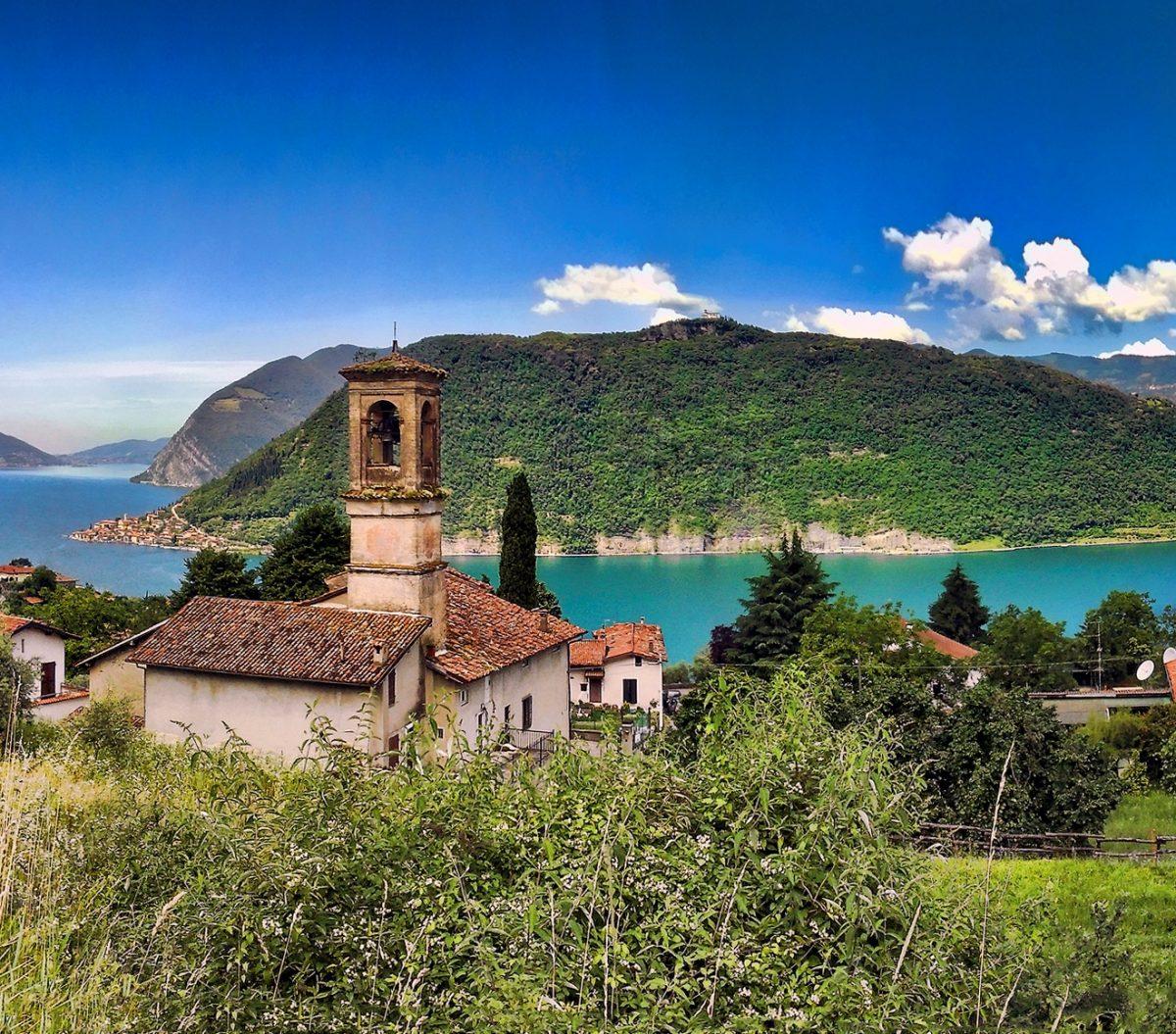 Monte isola uno dei borghi pi belli d 39 italia brescia - Foto di uno shamrock ...