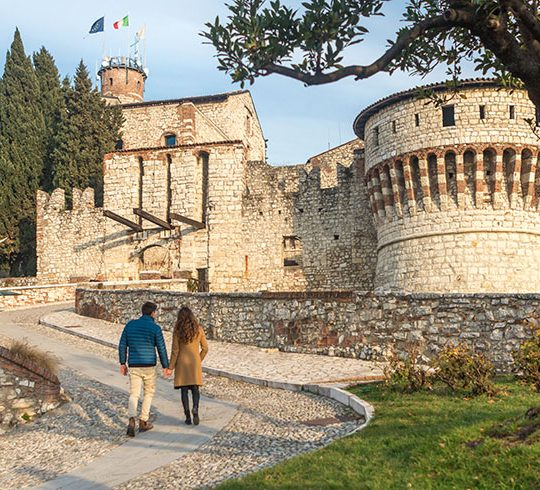 Visitare il castello di Brescia durante un weekend in città