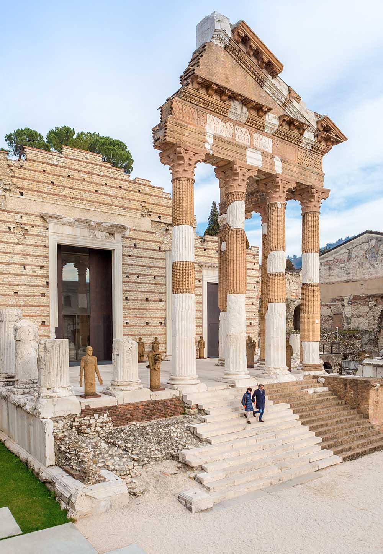 Cosa fare a Brescia: visitare il Capitolium