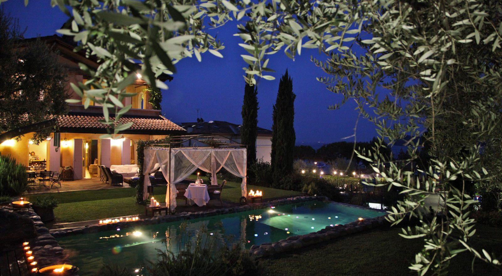 Camera Villa La Criolda, lago di Garda
