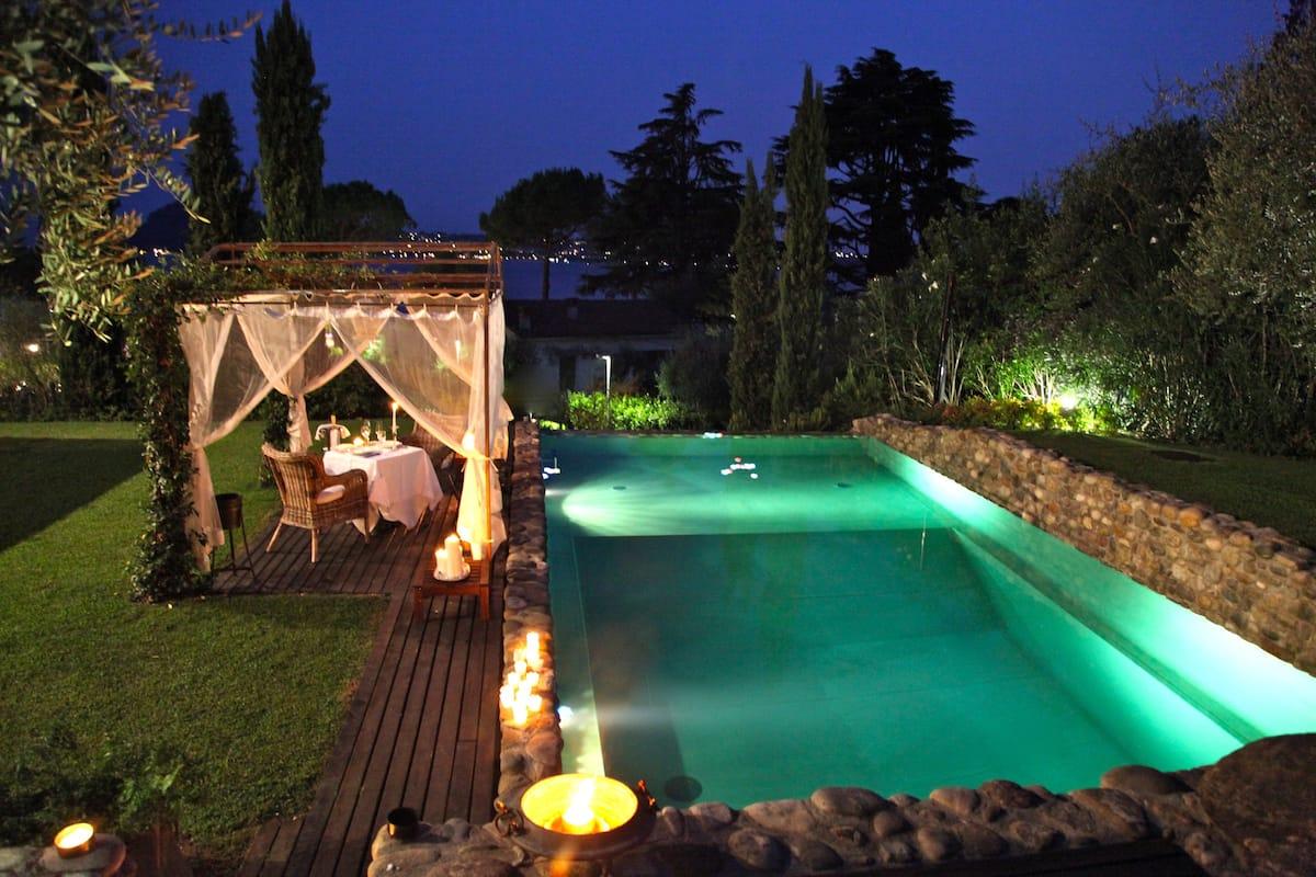 Piscina Villa La Criolda, lago di Garda