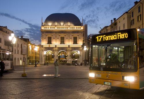 Autobus a Brescia