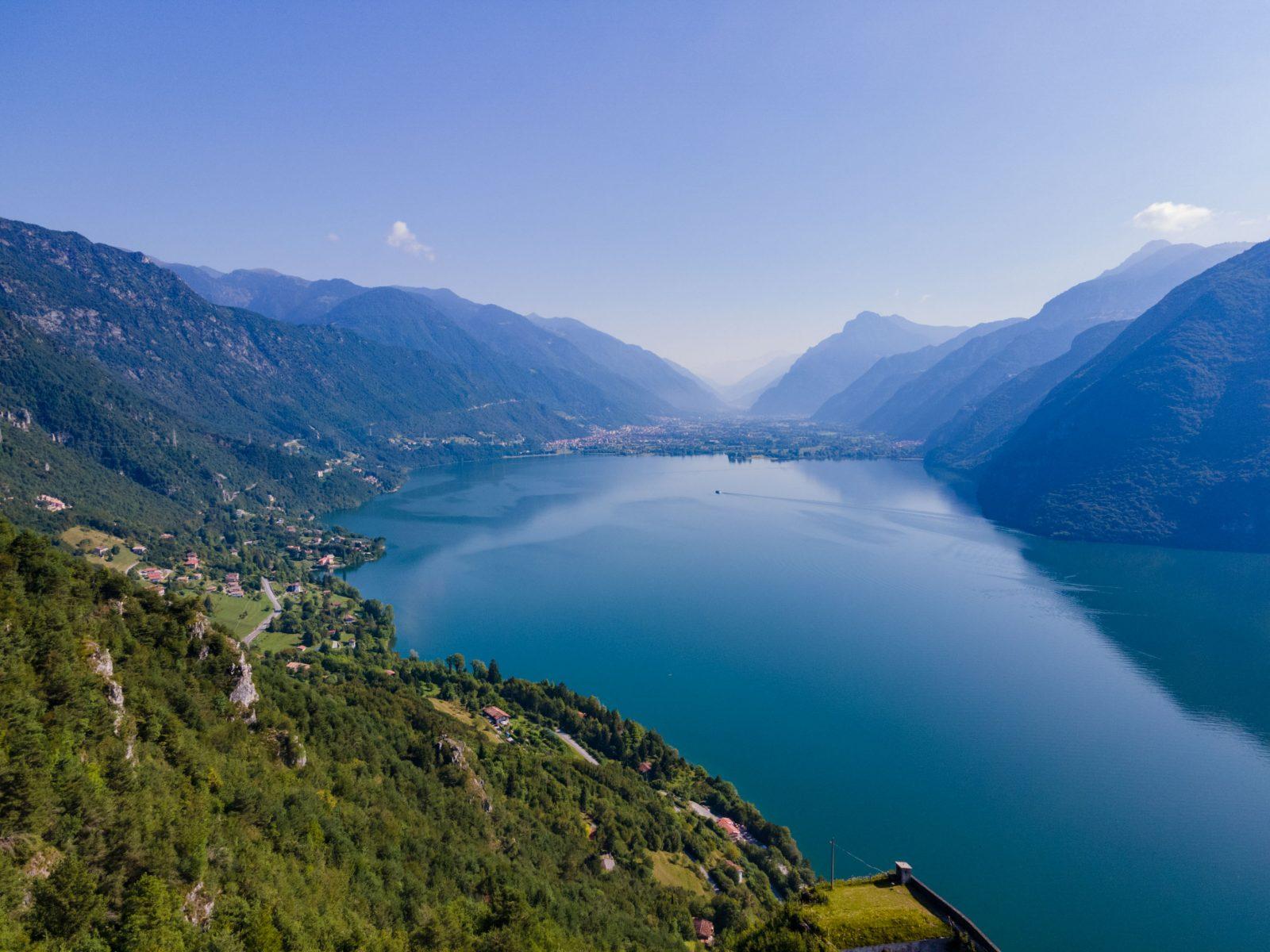 Panorama del Lago d'Idro