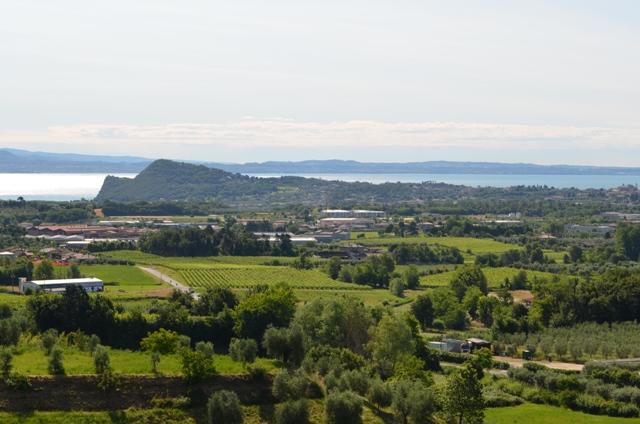 Vista panoramica da Puegnago del Garda