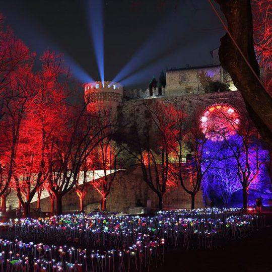 Festiva internazionale delle luci di Brescia 2019