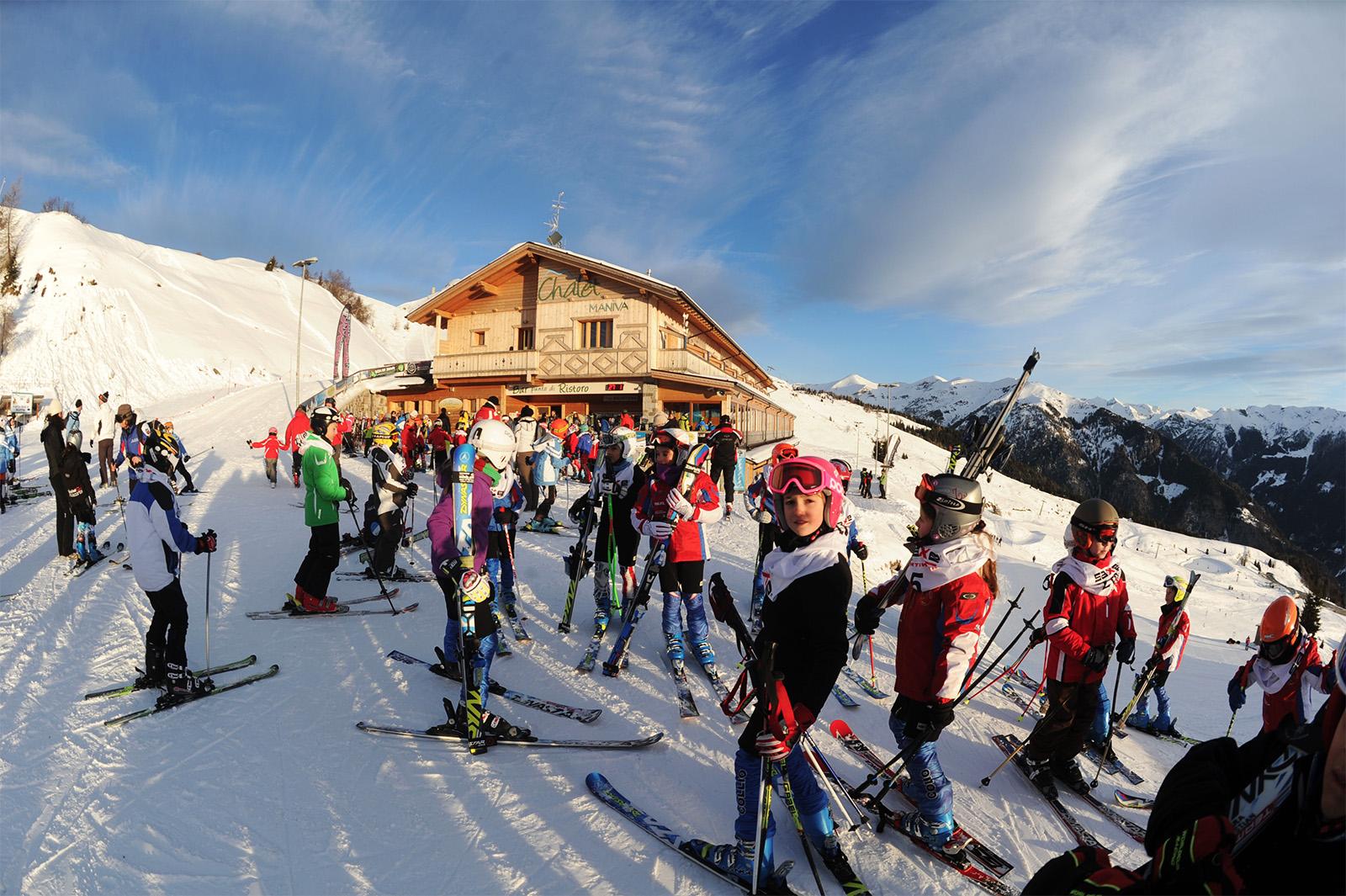 Maniva Ski vacanza sulla neve in famiglia