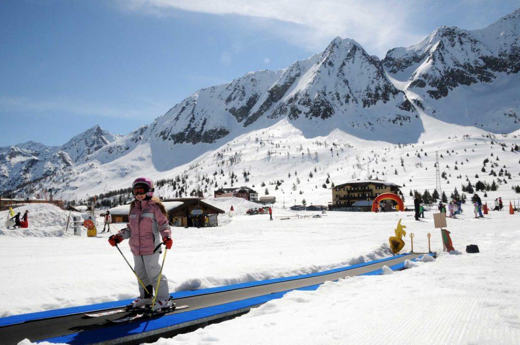 Sciare con i bambini in Italia