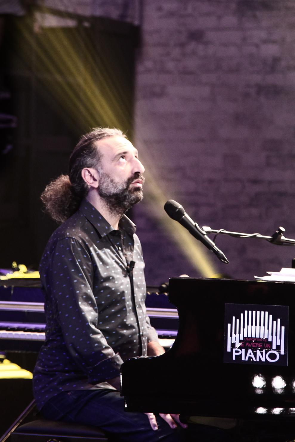 Stefano Bollani al piano