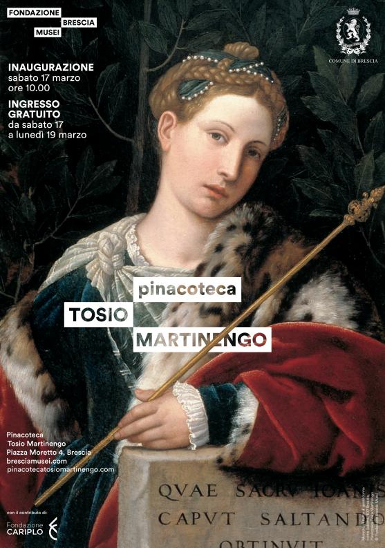 Inaugurazione Pinacoteca Tosio Martinengo