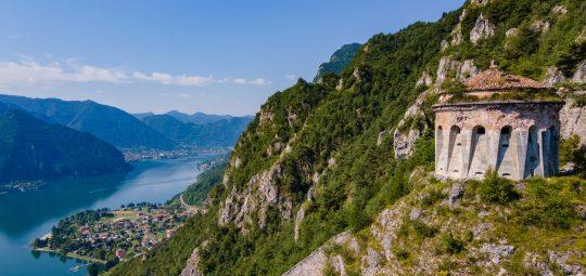 La Rocca di Anfo sul Lago d'Idro