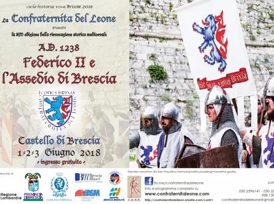 Federico II e l'assedio di Brescia, rievocazione storica 2018