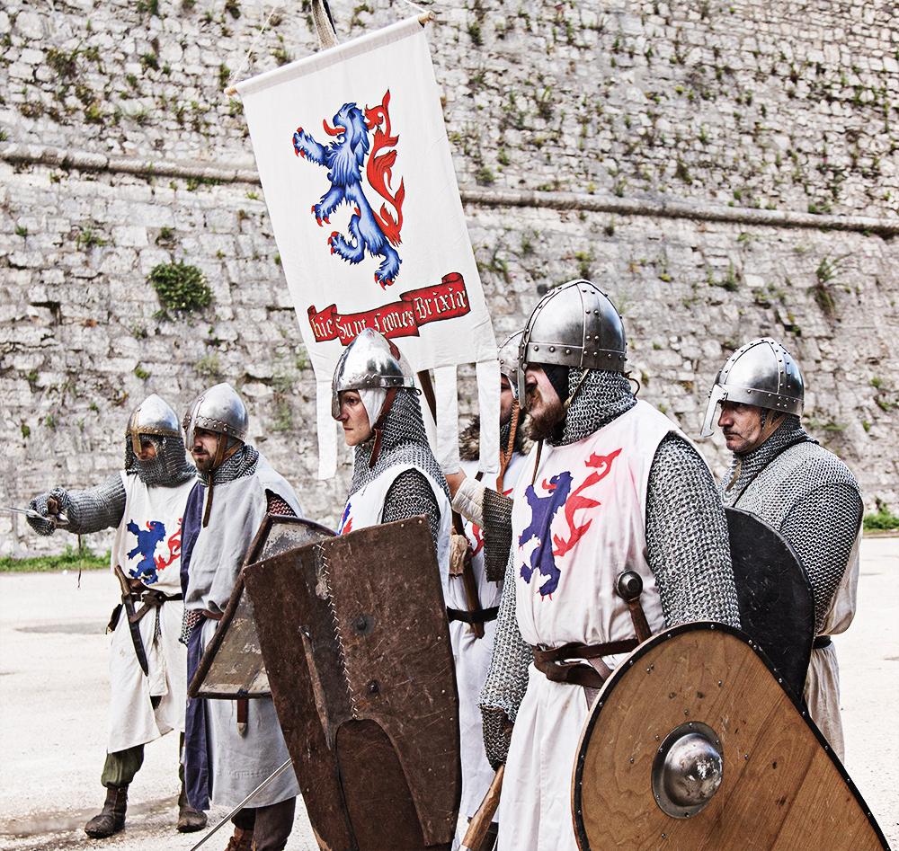 Confraternita del Leone | A.D.1238 Federico II e l'assedio di Brescia