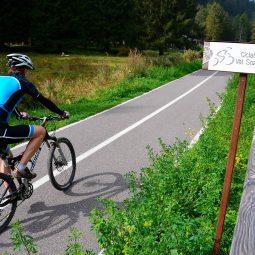 In bici famiglia Val Sozzine