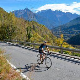 In bici in Aprica