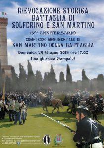 Rievocazione storica della battaglia di San Martino e Solferino del 1858 - Desenzano del Garda