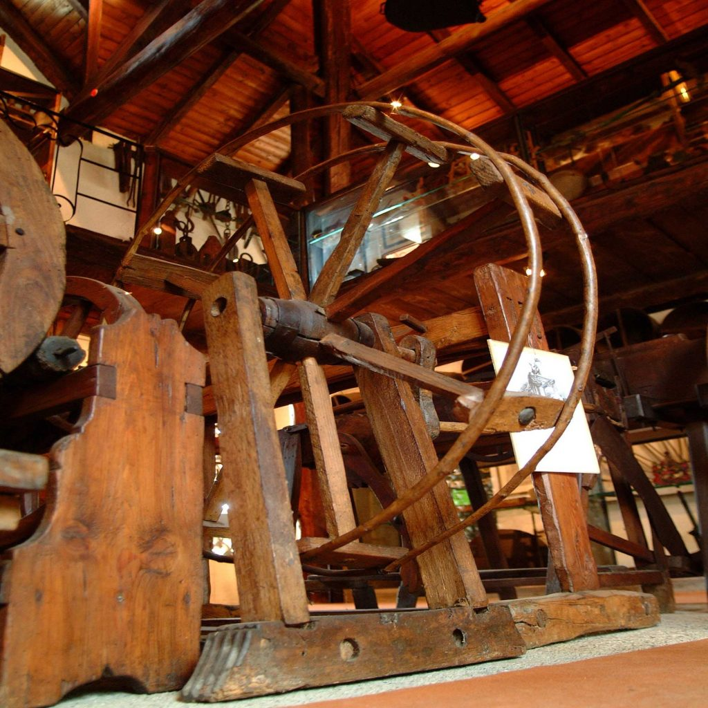 Aspo per filatura Museo del Vino Ricci Curbastro