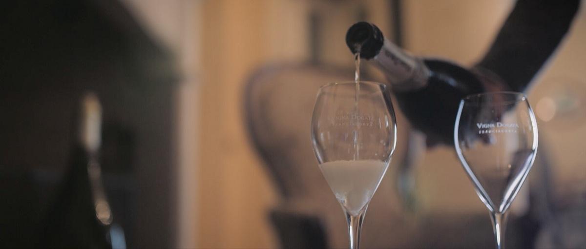 Vigna Dorata bicchiere di vino