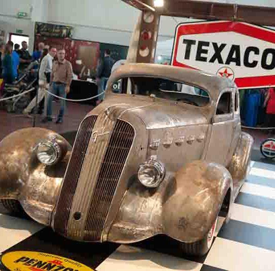 Auto vintage al Festival dei Motori presso il Centro Fiera di Montichiari