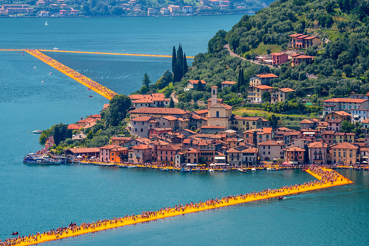 Monte Isola Floating Piers