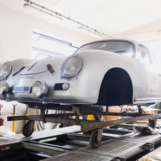 Carrozzeria GT a Montirone Porsche storica In Restauro