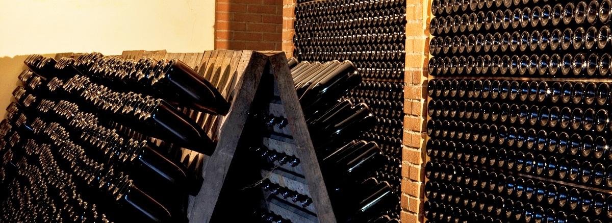 Cola Battista bottiglie di vino