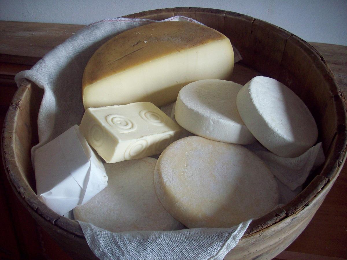 Malga Casine formaggi e burro